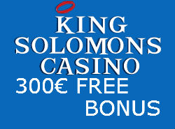 King Solomons Casino Μπόνους