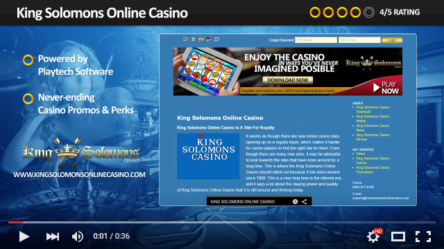 king solomon casino