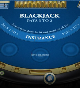 King Solomons Casino Blackjack